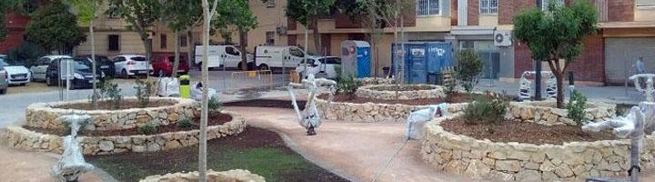 Valencia finaliza las obras del nuevo parque de Joaquim Dualde, adaptado a la nueva ley de accesibilidad universal