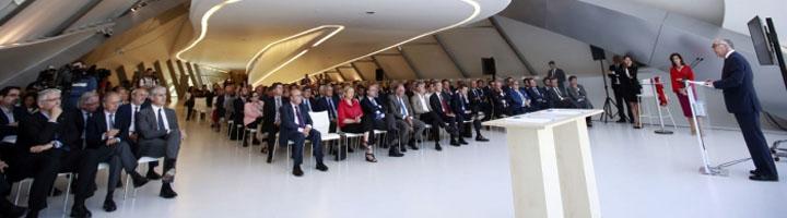Gobierno de Aragón y Fundación Ibercaja presentan la Ciudad de la Movilidad sostenible, epicentro del sector de la automoción