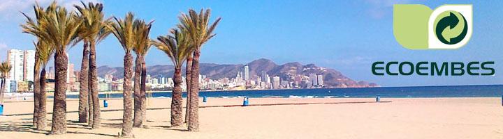 Benidorm y Ecoembes celebran este jueves una gran fiesta del reciclaje en la Playa de Levante