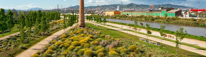 El Área Metropolitana de Barcelona ha reducido un 34% su consumo de agua en el riego de parques en 12 años