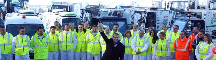 Vigo renueva la flota de limpieza con vehículos eléctricos y de gas natural