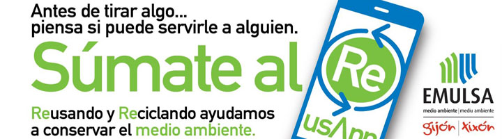 EMULSA desarrolla una app y un mapa interactivo para impulsar la reutilización en Gijón