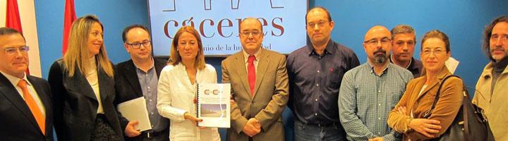 Cáceres solicita 15 millones de fondos europeos para la Estrategia de Desarrollo Urbano Sostenible Integrado