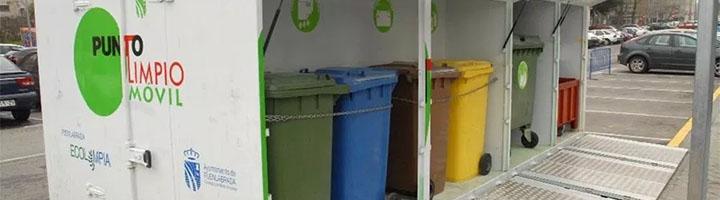 Fuenlabrada instala un nuevo Punto limpio móvil para facilitar la recogida de residuos domésticos