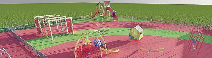 El nuevo parque infantil de Can Misses tendrá un diseño evolutivo