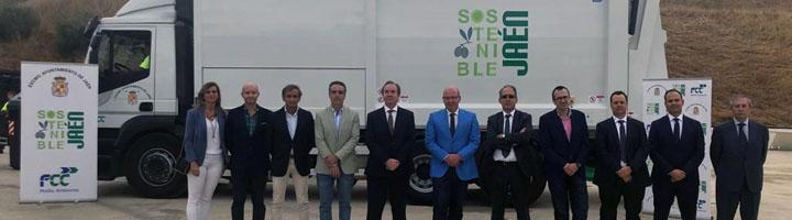 FCC Medio Ambiente presentan la nueva maquinaria del servicio de recogida de residuos y limpieza de Jaén