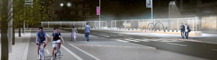 Huesca presenta el proyecto de reurbanización del paseo de Ramón y Cajal como