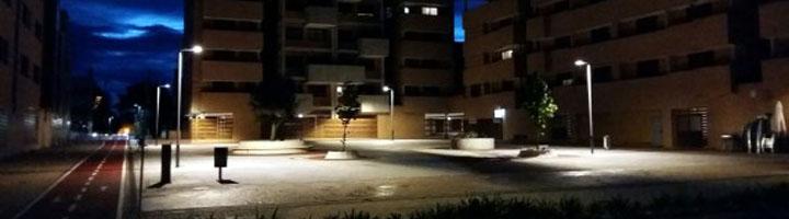 Yebes completa la segunda fase del plan de renovación del alumbrado público de Valdeluz con lámparas LED