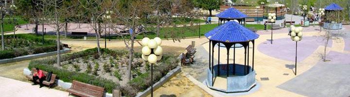 Jaén inicia un nuevo servicio de arreglo, mantenimiento y mejora de zonas verdes en el barrio de Expansión Norte