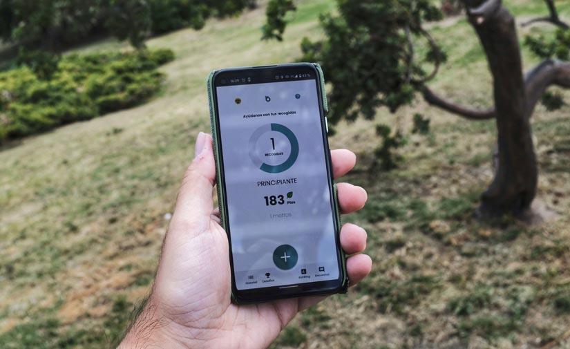 La app 'Basuraleza' de Ecoembes servirá para registrar los residuos abandonados en el medio natural