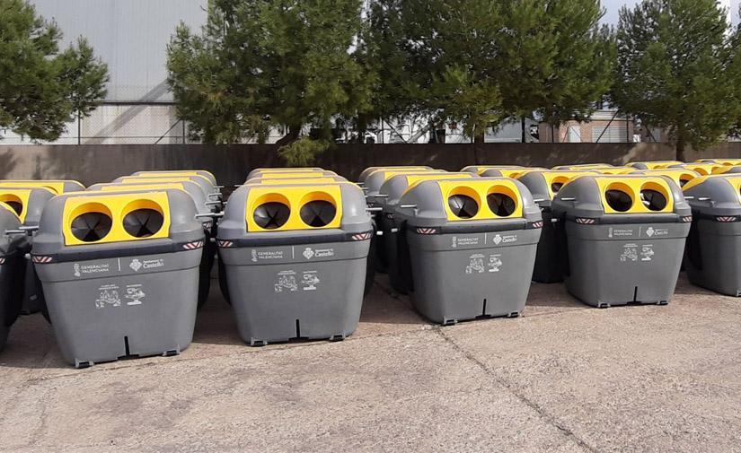 La Comunitat Valenciana incrementa la recogida de envases y prepara ayudas para recogida puerta a puerta