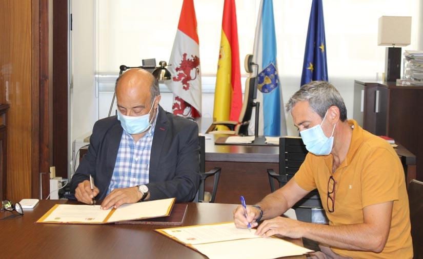La Confederación Hidrográfica del Miño-Sil y el Concello de Amoeiro acondicionarán la ruta fluvial de los molinos del rio Formigueiro