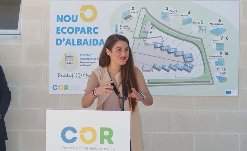 La Conselleria de Transición Ecológica Valenciana pone en marcha en Albaida el primer ecoparque informatizado