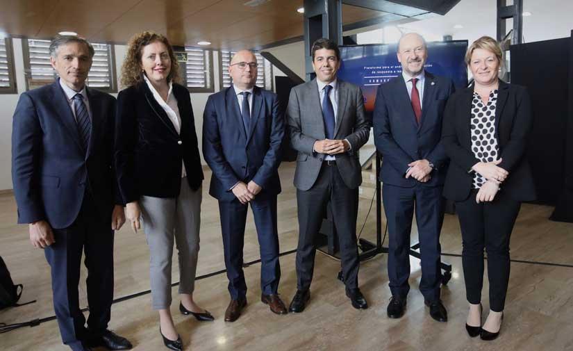 La Diputación de Alicante y SUEZ se alían para mejorar la capacidad de respuesta ante inundaciones