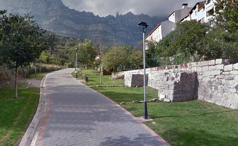 La Diputación de Barcelona mejora el alumbrado público de Monistrol de Montserrat