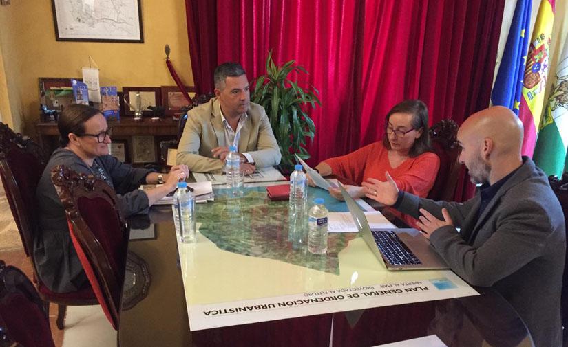 La Diputación de Cádiz y el Ayuntamiento Rota trabajan para la transformación de Rota como municipio inteligente