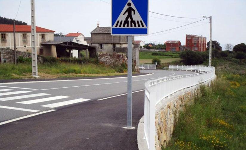 La Diputación de La Coruña adjudica la construcción de una senda peatonal que conectará Balada y Vilar de Herreros, en Santiso