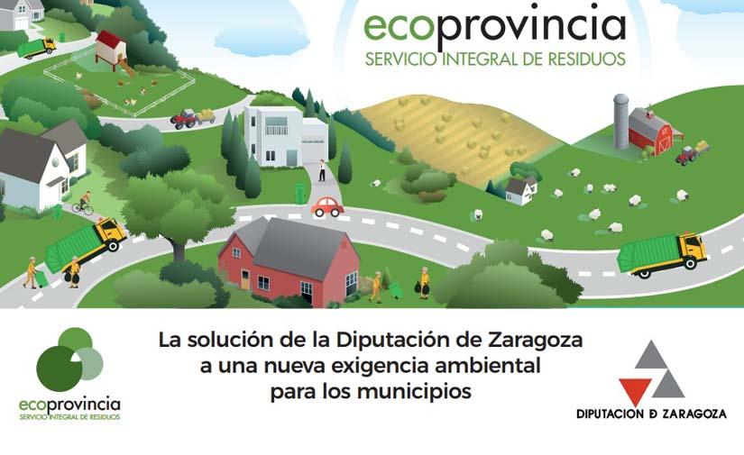 La Diputación de Zaragoza saca a concurso la construcción de las plantas de transferencia de residuos de Ejea y Quinto
