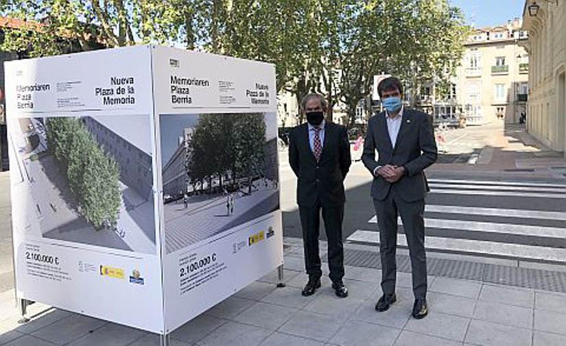 La nueva plaza de la Memoria contará con un espacio de encuentro peatonal y de calidad en el corazón de Vitoria-Gasteiz