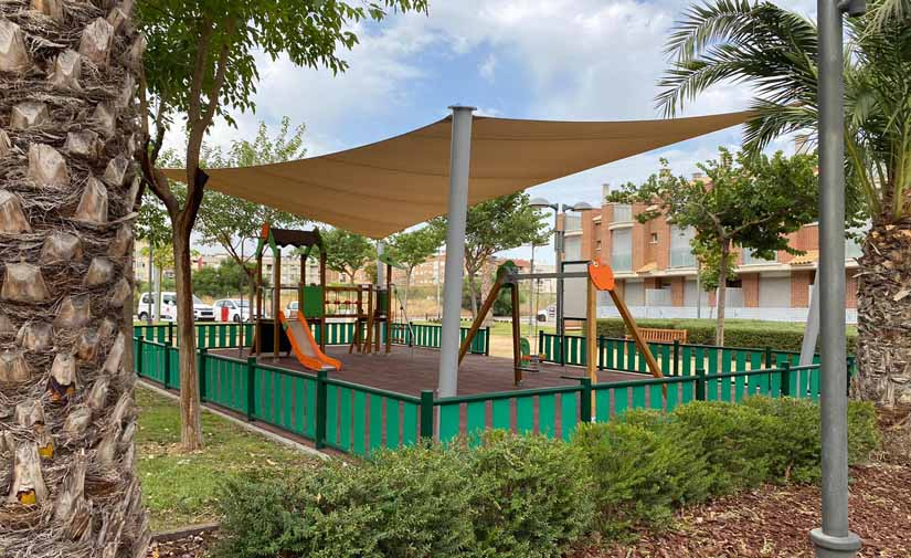 La pedanía de Algezares en Murcia estrena un parque y jardín de 8.000 metros cuadrados adaptado