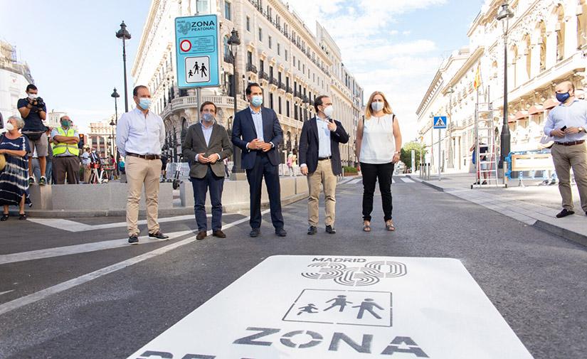 La Puerta del Sol de Madrid pasa a ser completamente peatonal