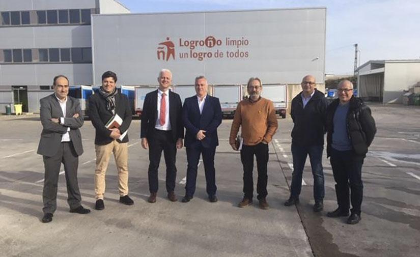 La recogida de residuos en los puntos limpios de Logroño sigue creciendo durante 2019