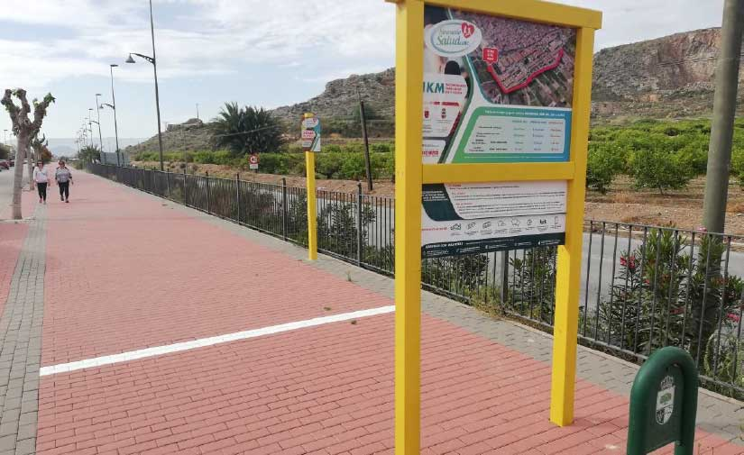 La Región de Murcia destina cerca de 350.000 euros a 37 itinerarios urbanos saludables