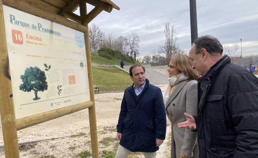La remodelación del parque de Pradolongo de Madrid mejora las conexiones con el barrio