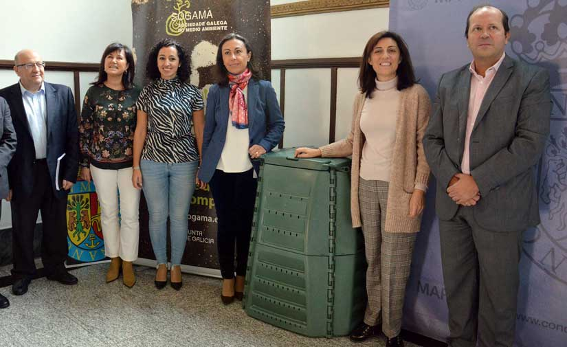 La Xunta de Galicia repartirá el año que viene 3.000 composteros y reservará casi seis millones a mejorar la gestión de los biorresiduos