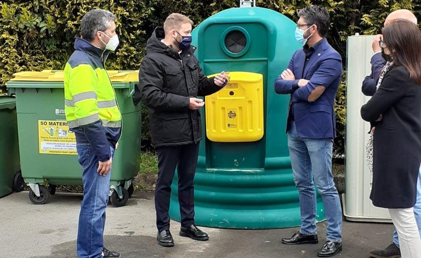 La Xunta invirtió 83.000€ para la adquisición de 920 contenedores