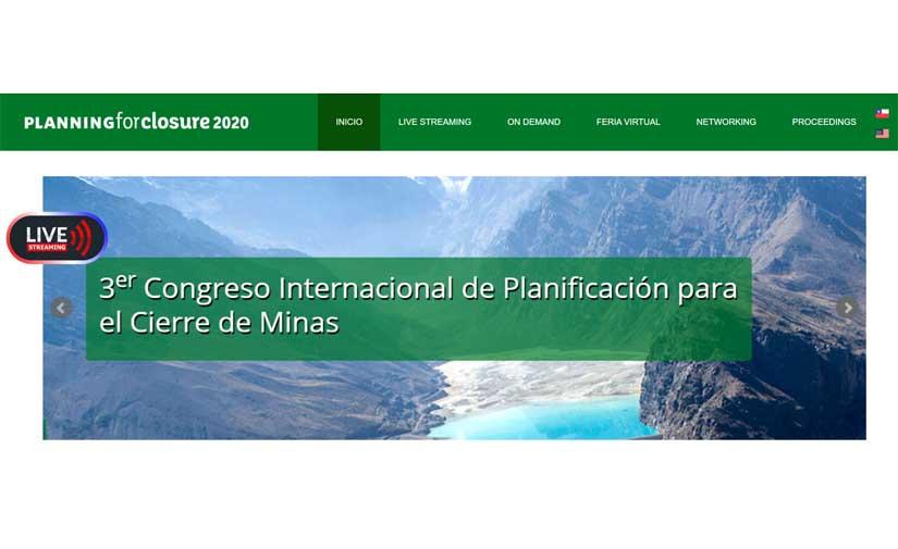 Las conferencias y congresos Internacionales de Gecamin se realizarán en modalidad online