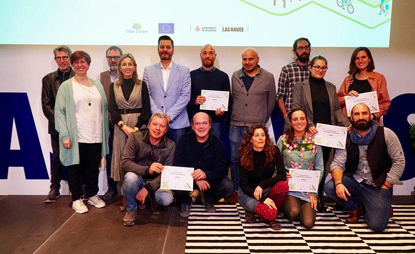 Las Naves premia la recuperación de un solar para la creación de un centro cívico verde en Benicalap