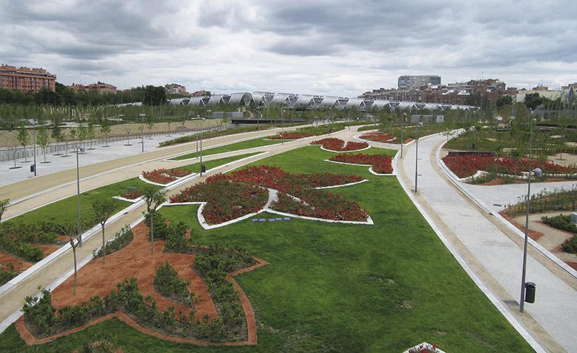 Las zonas verdes urbanas, a examen