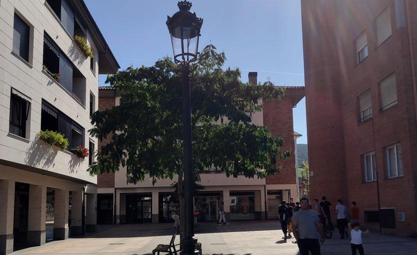 Lazkao mejorado el alumbrado público en varias calles