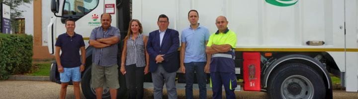 Los nuevos camiones de recogida de basura de Promedio entran ya en funcionamiento