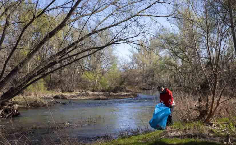 LIBERA caracteriza más de 75.000 residuos abandonados en entornos fluviales