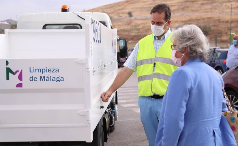 Limpieza de Málaga S.A.M. incorpora a su flota 20 vehículos ligeros polivalentes destinados a la recogida
