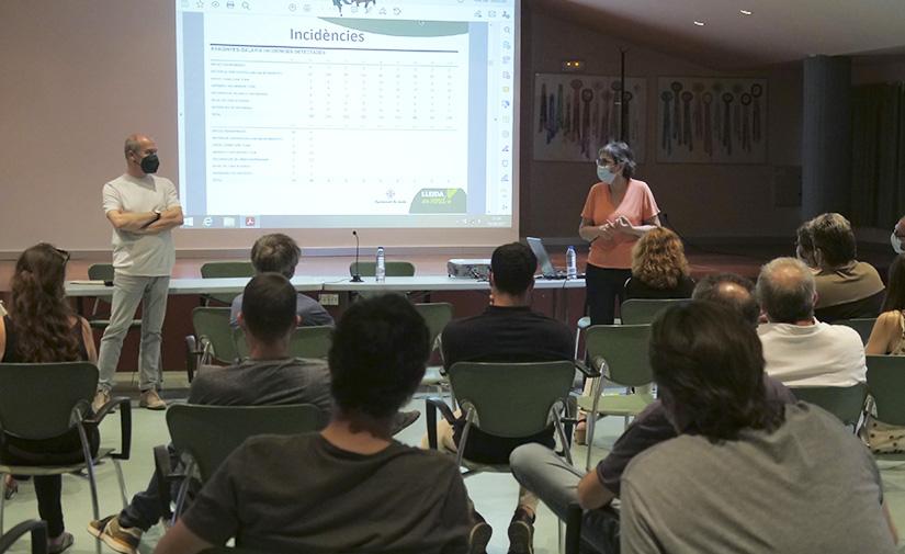 Lleida, modelo de recogida selectiva puerta a puerta de residuos urbanos