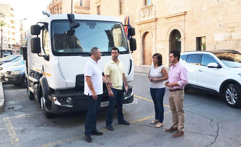 Llíria renueva y mejora la flota del servicio de recogida de residuos urbanos
