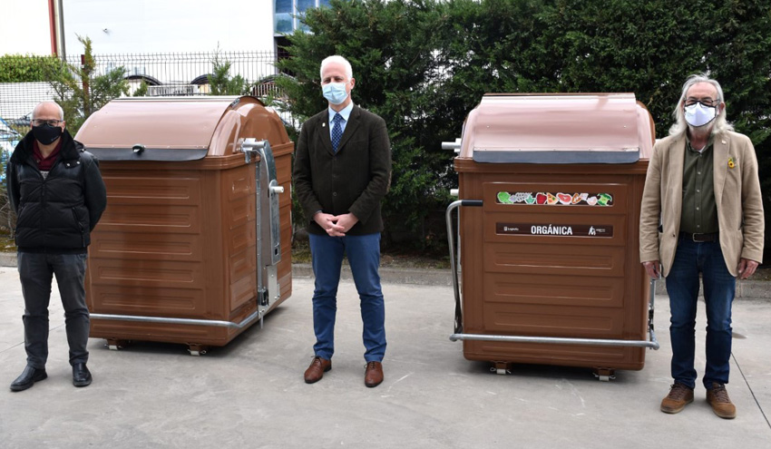 Logroño arranca la recogida de residuos orgánicos en varias zonas de la ciudad