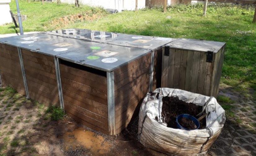 Los compostadores comunitarios de Pontevedra duplican la cantidad de biorresiduos tratados durante el estado de alarma