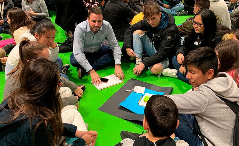 Los más jóvenes buscan soluciones ante la emergencia climática en un evento de AMBILAMP en la COP25