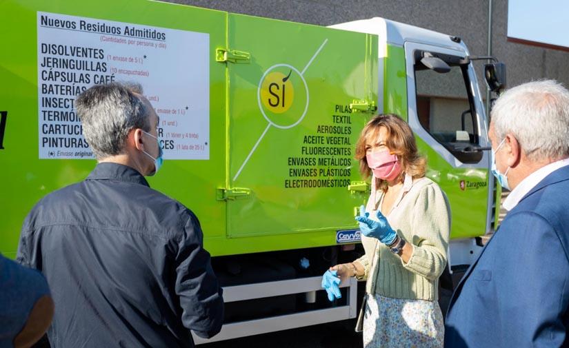 Los Puntos Limpios Móviles de Zaragoza recuperan su actividad y amplían el catálogo de residuos aceptados