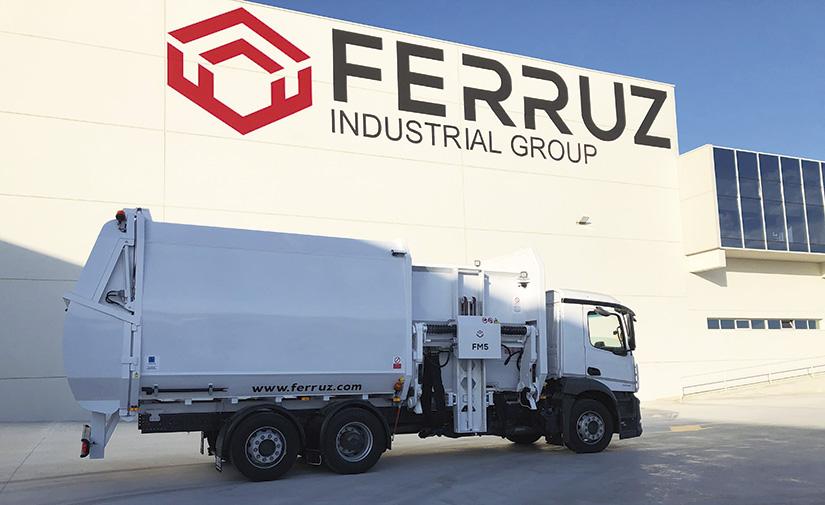 Los recolectores del Grupo Industrial Ferruz se estrenan en Medina del Campo