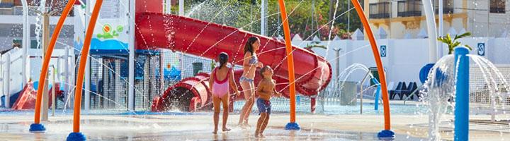 Parques de agua sin profundidad, un espacio para todas las edades