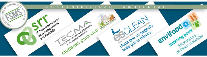 IFEMA acoge las soluciones medioambientales y sostenibles para los sectores del Urbanismo y Medioambiente, Recuperación y Reciclado, Alimentación y Bebidas y Limpieza Profesional