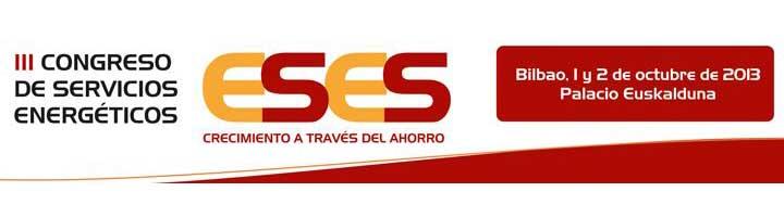 Bilbao acogerá el III Congreso de Servicios Energéticos los días 1 y 2 de octubre