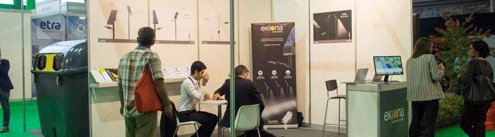 EKIONA participa en Greencities 2018 y presenta la nueva farola solar Serie Moon