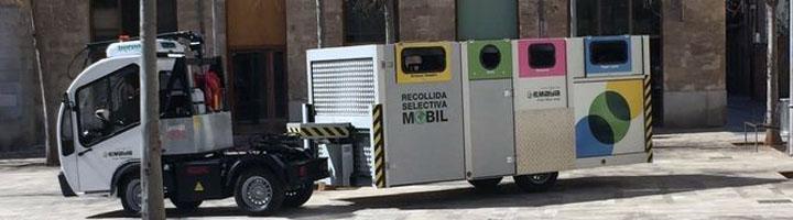 La recogida selectiva de basura en el casco antiguo de Palma de Mallorca comenzará este mes