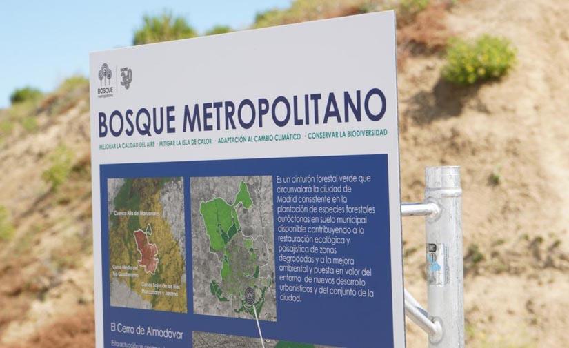 Madrid acondicionará la parcela del cerro Almodóvar, el kilómetro cero del Bosque Metropolitano